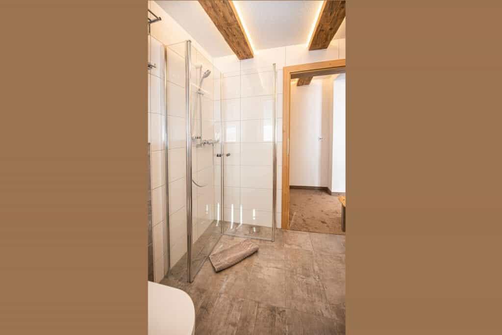Dusche Bodengleich