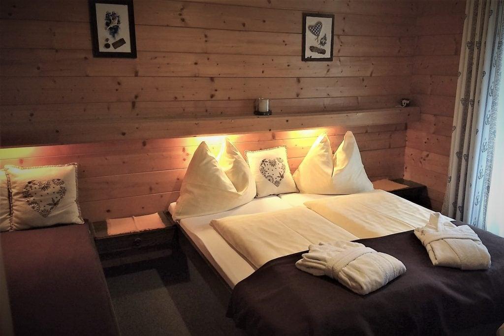 Doppelzimmer Zusatzbett mit Balkon